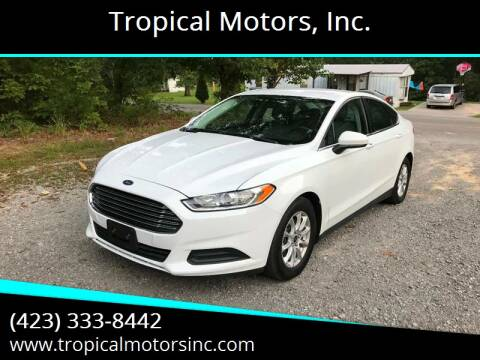 2015 Ford Fusion for sale at Tropical Motors, Inc. in Riceville TN