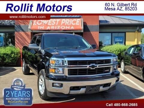 2015 Chevrolet Silverado 1500 for sale at Rollit Motors in Mesa AZ