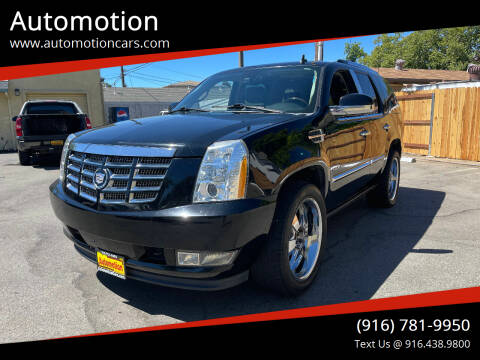 2010 Cadillac Escalade for sale at Automotion in Roseville CA