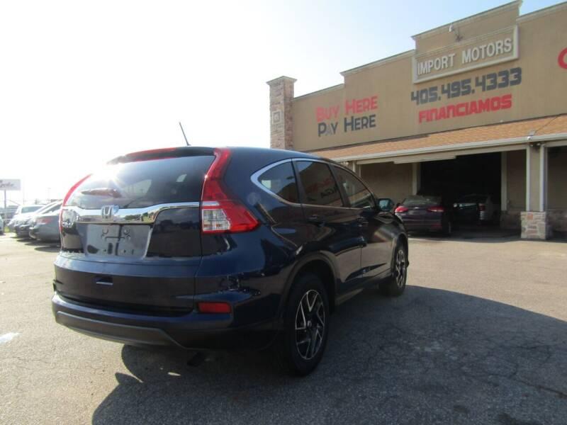 2016 Honda CR-V SE 4dr SUV - Bethany OK