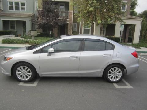 2012 Honda Civic for sale at PREFERRED MOTOR CARS in Covina CA