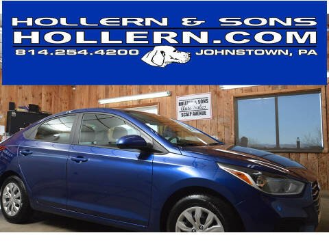 2021 Hyundai Accent for sale at Hollern & Sons Auto Sales in Johnstown PA