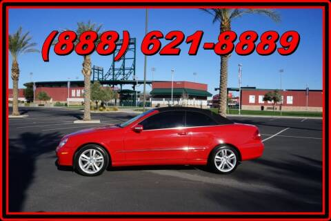 2008 Mercedes-Benz CLK for sale at AZautorv.com in Mesa AZ