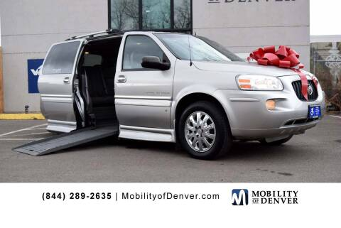 2007 Buick Terraza for sale at CO Fleet & Mobility in Denver CO