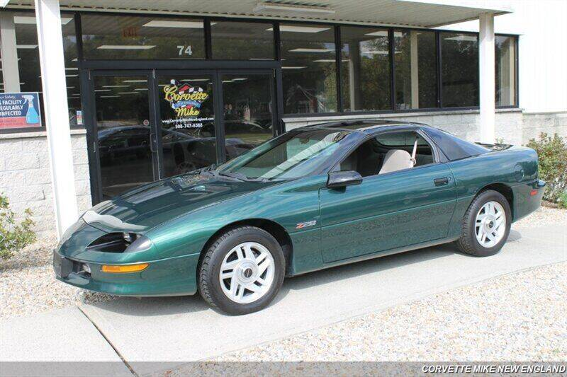 1996 Chevrolet Camaro for sale at Corvette Mike New England in Carver MA