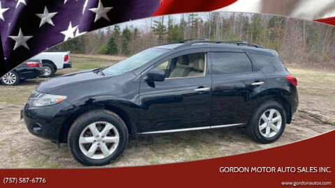 2010 Nissan Murano for sale at Gordon Motor Auto Sales Inc. in Norfolk VA