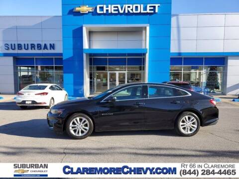 2017 Chevrolet Malibu for sale at Suburban Chevrolet in Claremore OK