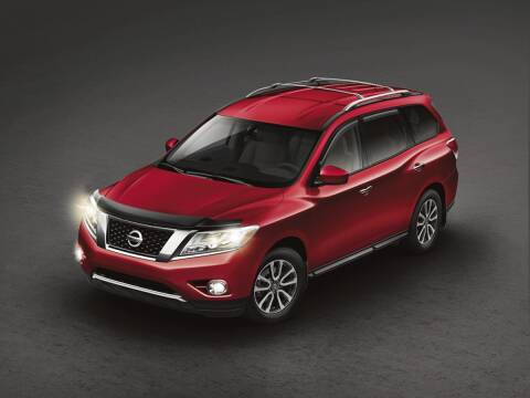 2014 Nissan Pathfinder for sale at BARRYS Auto Group Inc in Newport RI