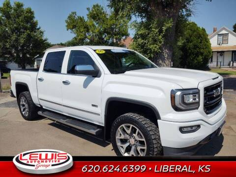 2016 GMC Sierra 1500 for sale at Lewis Chevrolet Buick of Liberal in Liberal KS