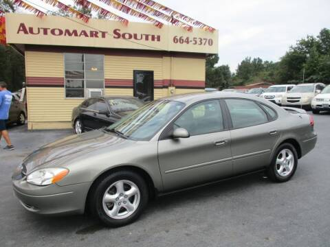 2003 Ford Taurus for sale at Automart South in Alabaster AL