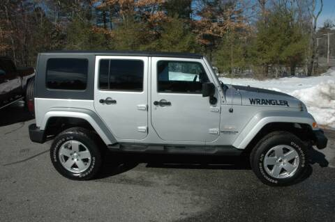 2011 Jeep Wrangler Unlimited for sale at Bruce H Richardson Auto Sales in Windham NH