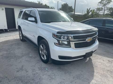 2016 Chevrolet Tahoe for sale at Excellent Autos of Orlando in Orlando FL