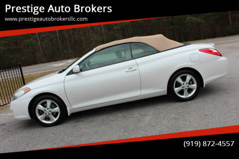 2006 Toyota Camry Solara for sale at Prestige Auto Brokers in Raleigh NC