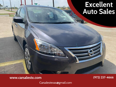 2015 Nissan Sentra for sale at Excellent Auto Sales in Grand Prairie TX