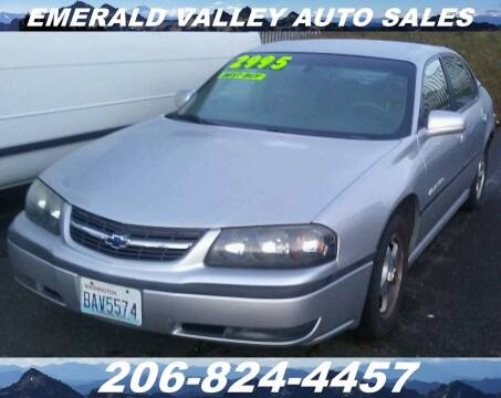 2000 Chevrolet Impala for sale at Emerald Valley Auto Sales in Des Moines WA