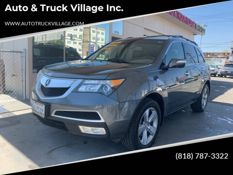 2010 Acura MDX for sale at Auto & Truck Village Inc. in Van Nuys CA