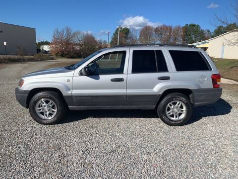 2004 Jeep Grand Cherokee for sale at MEEK MOTORS in North Chesterfield VA