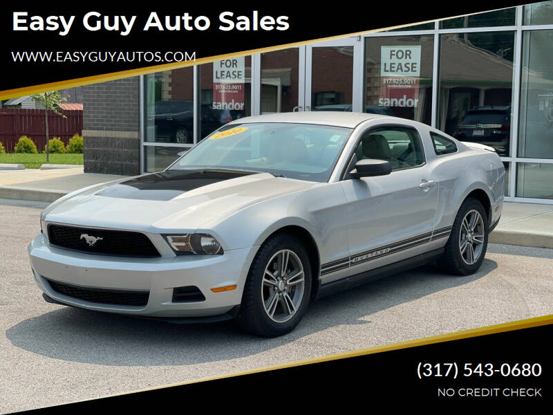 2010 Ford Mustang for sale at Easy Guy Auto Sales in Indianapolis IN