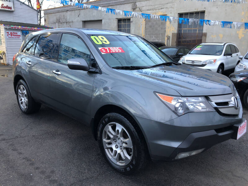 2009 Acura MDX for sale at Riverside Wholesalers 2 in Paterson NJ