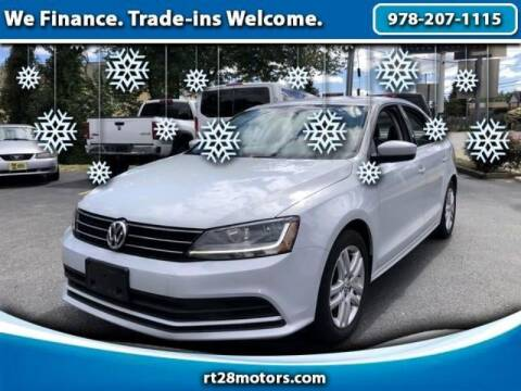 2017 Volkswagen Jetta for sale at RT28 Motors in North Reading MA