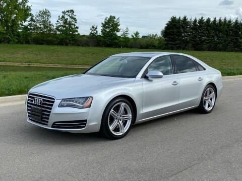 2013 Audi A8 for sale at Geneva Motorcars LLC in Delavan WI