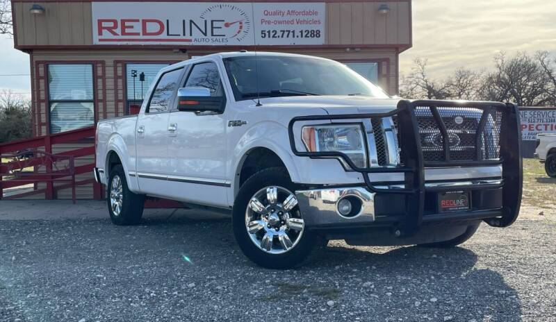 2011 Ford F-150 for sale at REDLINE AUTO SALES LLC in Cedar Creek TX