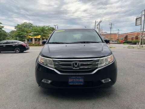 2011 Honda Odyssey for sale at FIRST CLASS AUTO in Arlington VA