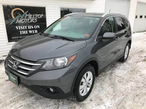 2012 Honda CR-V for sale at HILLTOP MOTORS INC in Caribou ME