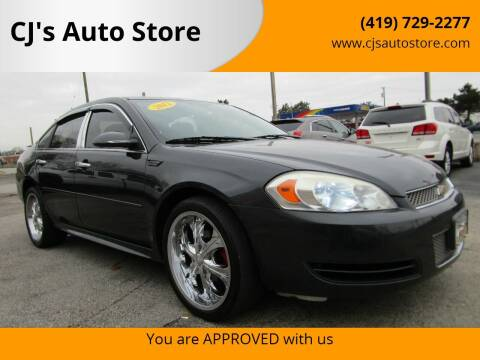 2012 Chevrolet Impala for sale at CJ's Auto Store in Toledo OH