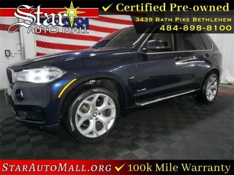 2015 BMW X5 for sale at STAR AUTO MALL 512 in Bethlehem PA