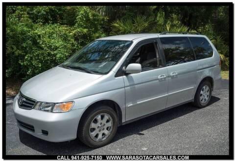 2003 Honda Odyssey for sale at Sarasota Car Sales in Sarasota FL