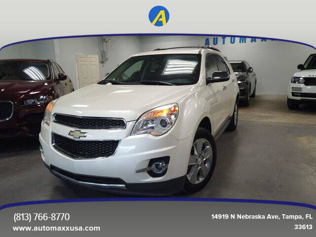 2013 Chevrolet Equinox for sale at Automaxx in Tampa FL