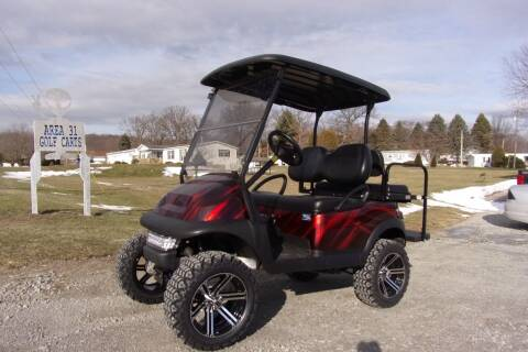 2016 Club Car Precedent 4 Passenger Gas EFI for sale at Area 31 Golf Carts - Gas 4 Passenger in Acme PA