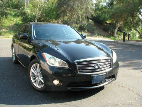 2012 Infiniti M35h for sale at Used Cars Los Angeles in Los Angeles CA