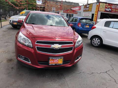 2013 Chevrolet Malibu for sale at RON'S AUTO SALES INC in Cicero IL