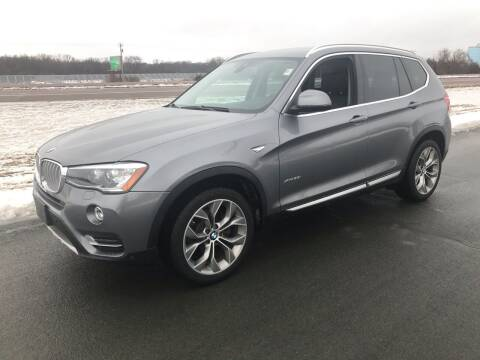 2016 BMW X3 for sale at Whi-Con Auto Brokers in Shakopee MN