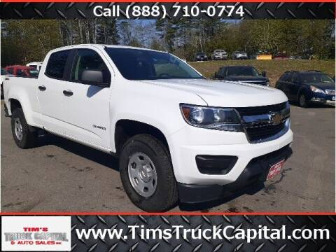 2018 Chevrolet Colorado for sale at TTC AUTO OUTLET/TIM'S TRUCK CAPITAL & AUTO SALES INC ANNEX in Epsom NH