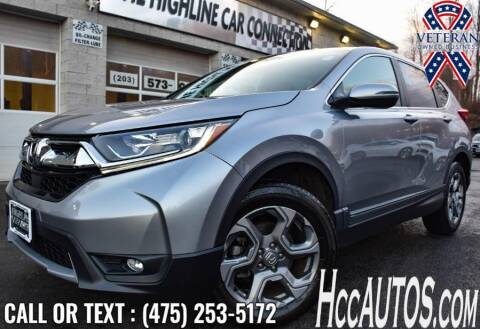 2017 Honda CR-V for sale at The Highline Car Connection in Waterbury CT