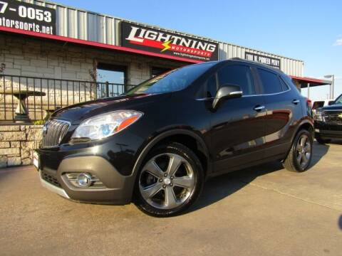 2014 Buick Encore for sale at Lightning Motorsports in Grand Prairie TX