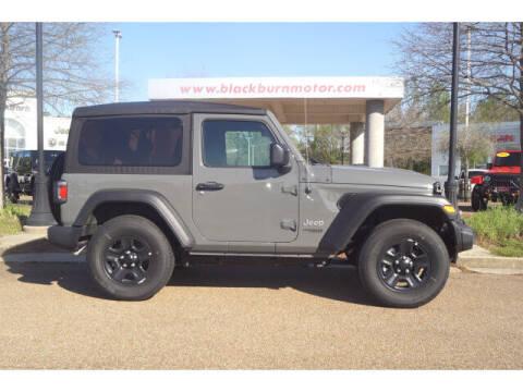 2021 Jeep Wrangler for sale at BLACKBURN MOTOR CO in Vicksburg MS
