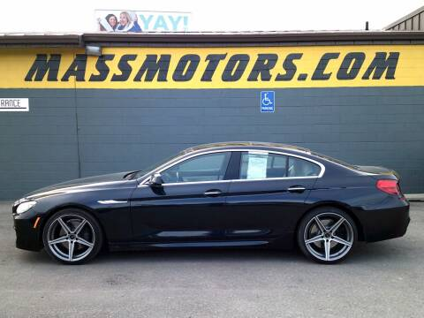 2013 BMW 6 Series for sale at M.A.S.S. Motors - Fairview in Boise ID