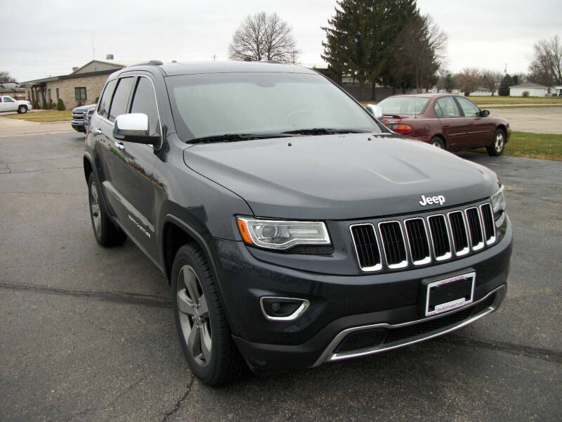 2014 Jeep Grand Cherokee for sale at USED CAR FACTORY in Janesville WI