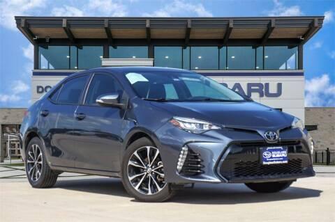 2018 Toyota Corolla for sale at Douglass Automotive Group - Douglas Subaru in Waco TX