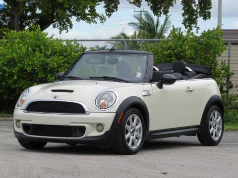 2013 MINI Convertible for sale at DK Auto Sales in Hollywood FL