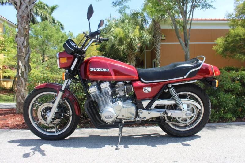 1980 Suzuki GS1100 for sale at Goval Auto Sales in Pompano Beach FL