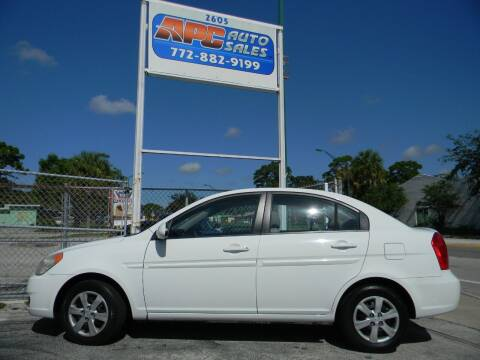 2009 Hyundai Accent for sale at APC Auto Sales in Fort Pierce FL