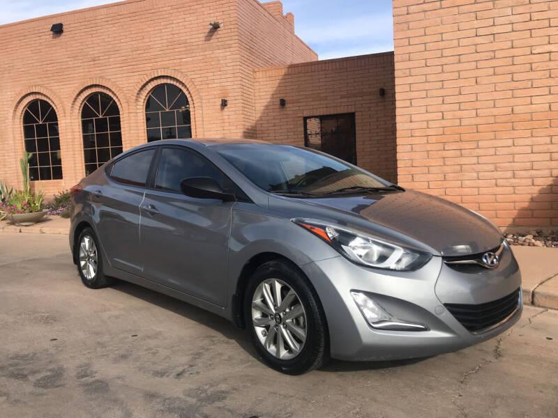 2016 Hyundai Elantra for sale at Freedom  Automotive in Sierra Vista AZ