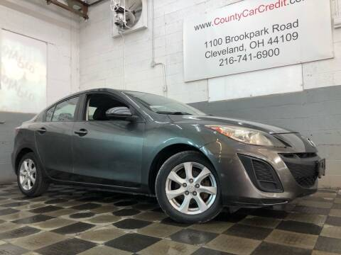 2010 Mazda MAZDA3 for sale at County Car Credit in Cleveland OH