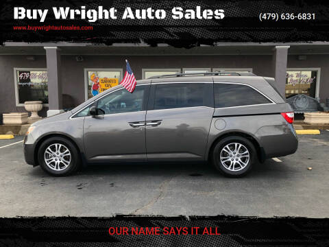 2011 Honda Odyssey for sale at Buy Wright Auto Sales in Rogers AR