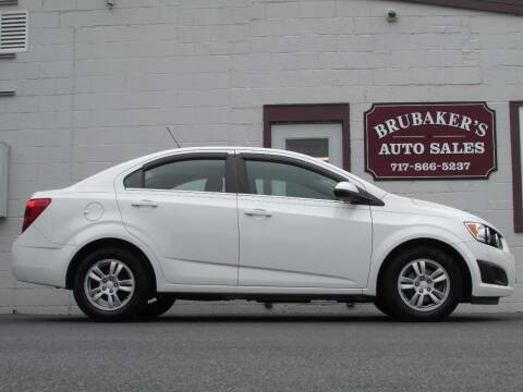 2016 Chevrolet Sonic for sale at Brubakers Auto Sales in Myerstown PA